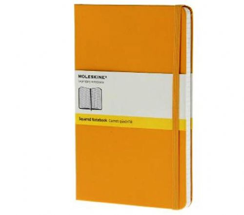 Yellow Large Squared Notebook